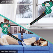 Cordless Leaf Blower 20V Electric Handheld Blowers Battery-Powered