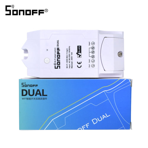 Smart Home Automation Dual Wireless Remote Controller