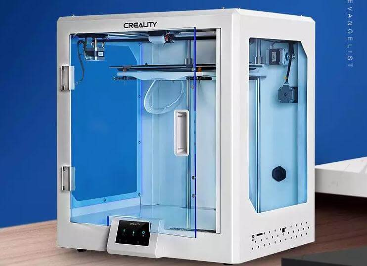 What are the Advantages of Fully Enclosed CR-5 Pro 3D Printer-01