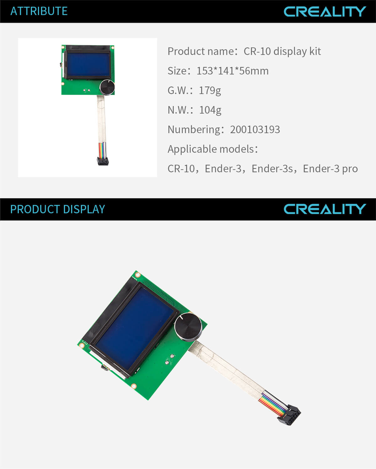 creality-3d-printer-CR-10-Display-Kit-11