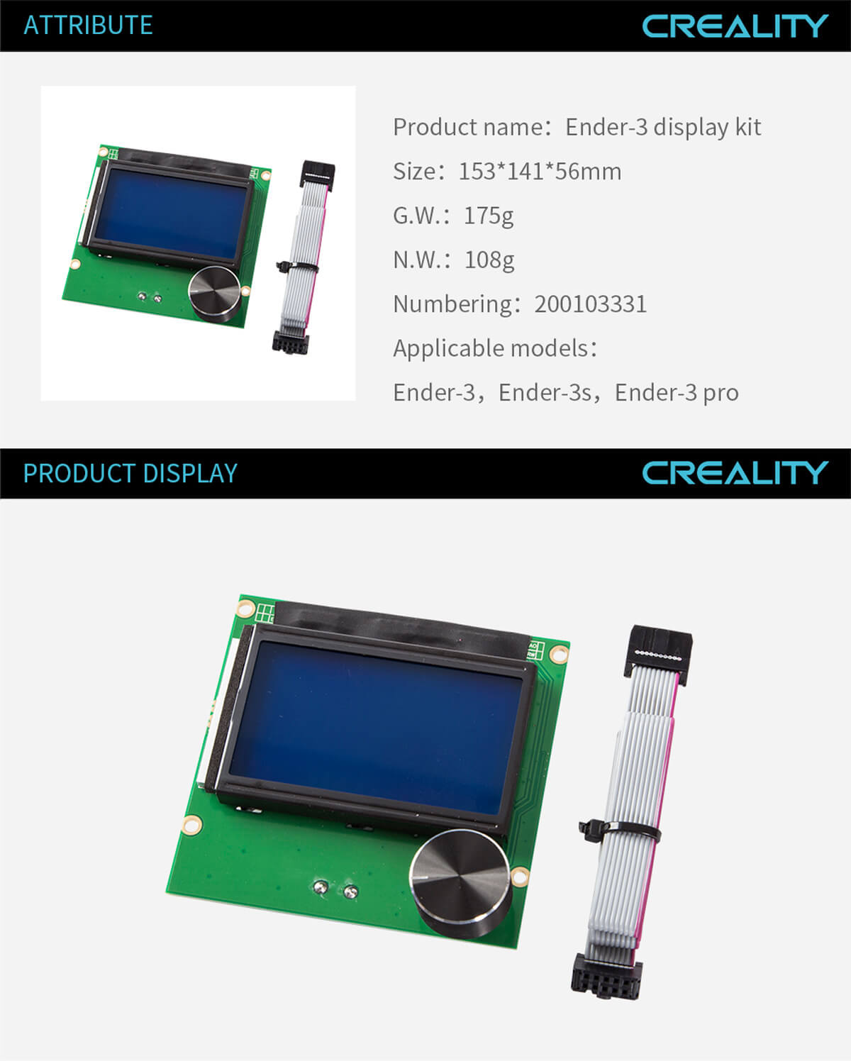 creality-3d-printer-Ender-3-Display-Kit-11