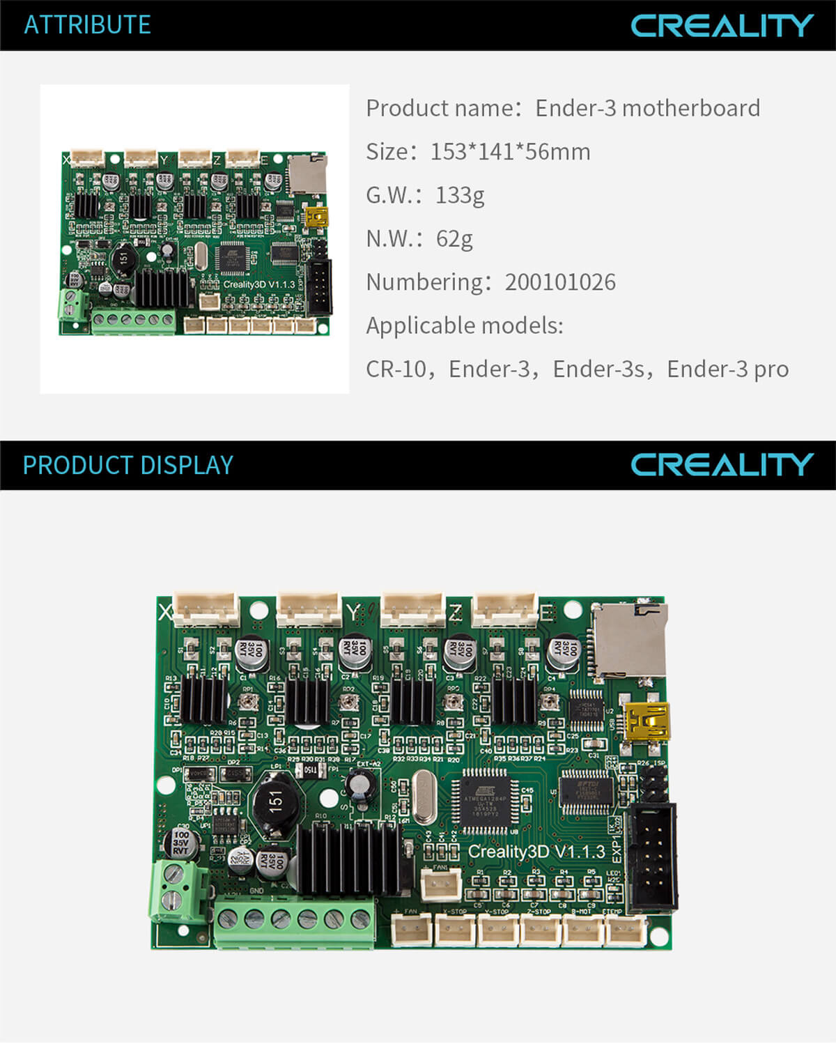 creality-3d-printer-Ender-3-Motherboard-11