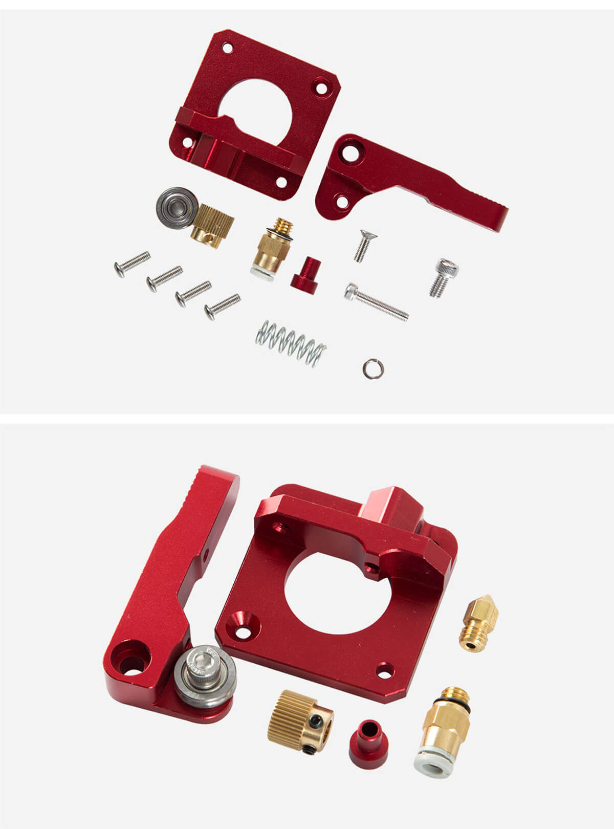 creality-3d-printer-Red-Metal-Extrusion-Mechanism-Kit-12