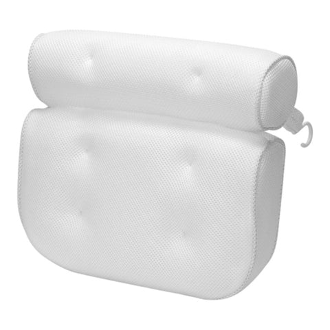3D Mesh Fabric Anti-Slip Suction Cup Bathtub Pillow & Cushion Headrest
