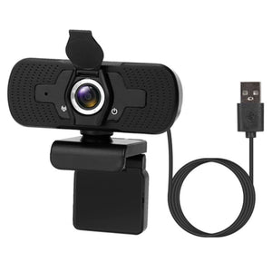FHD 1080P Rotatable USB Webcam with Microphone