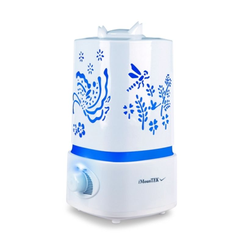 iMounTEK 7 Color LED Ultrasonic Air Humidifier and Aroma Diffuser  1500ml