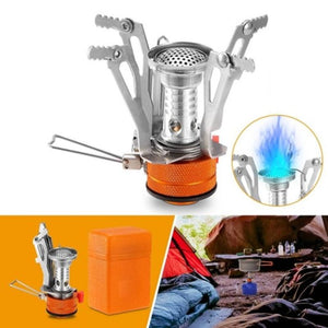 Ultralight Camping Stove  Portable Hiking Stove  Piezo Ignition