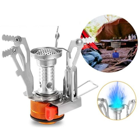 Image of Ultralight Camping Stove  Portable Hiking Stove  Piezo Ignition