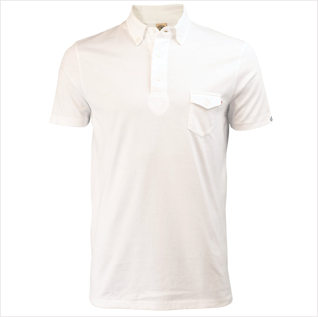 Marcus - Pure White Polo