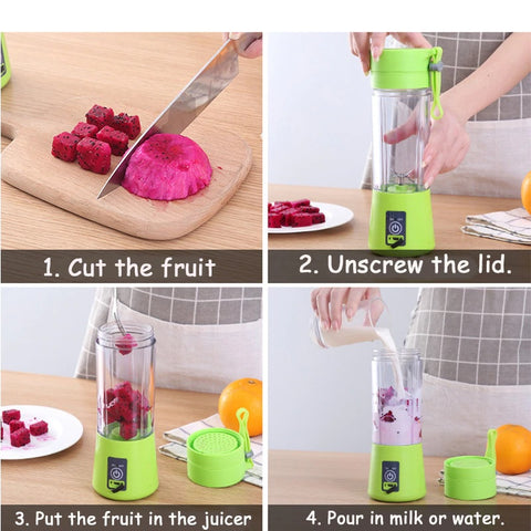 how-to-use-Portable-USB-Bottle-Blender-mixer-for-shakes-smoothies-1