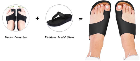 The RelaxSandal - Comfy Comfortable Sandals Shoes for Bunions