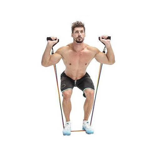 best full body resistance bands with door anchor systems for men and women