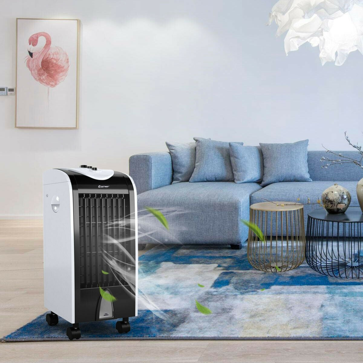 Portable air conditioner unit and ice cold a/c unit