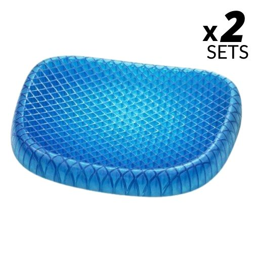 CloudCushion | Gel seat cushion - 2 Sets