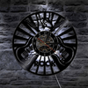 Rock and Roll Vinyl Clock