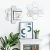 Honeycomb Reflective Wall Stickers