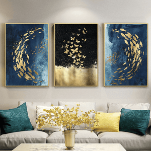 Golden Fish Canvas