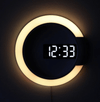Iris LED Digital Clock