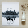 Mystical Lake Canvas