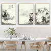 Oriental Mountains Canvas