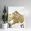 Golden Mountain Canvas