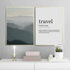 Travel Definition Canvas