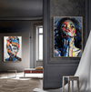 Abstract Woman Canvas - RedepicDeals