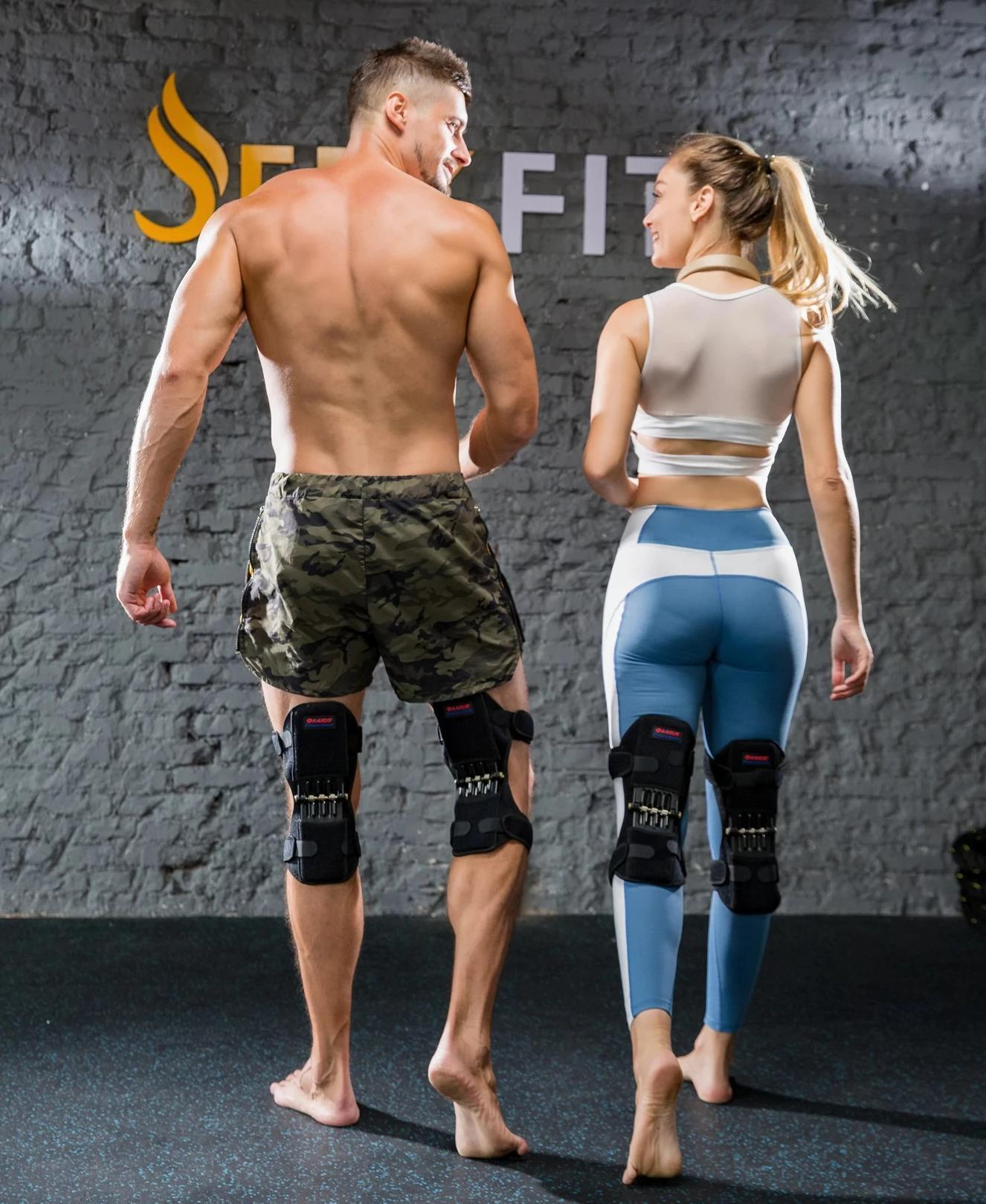 knee pad Hinged knee brace and power joint support joint support