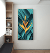 Contrasting Bloom Canvas