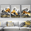 Contrasting Mountains Canvas