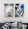 Corona Headdress Canvas