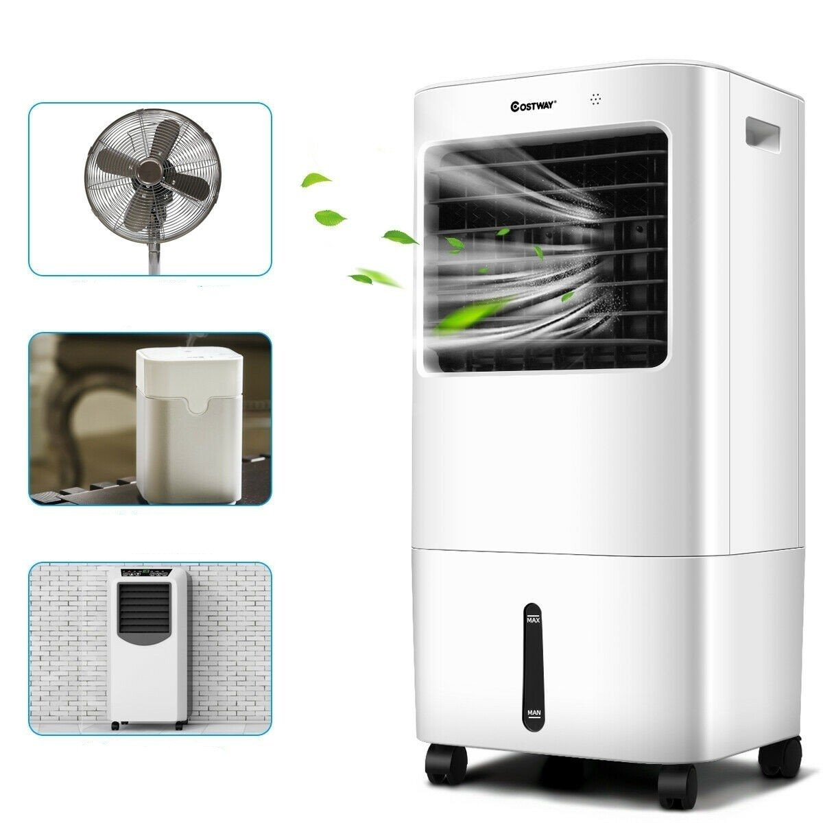 Portable air conditioner unit and air cooler