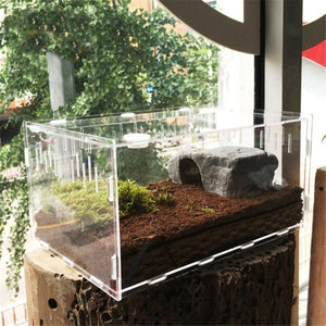Premium Enclosure Tank Terrarium For Reptiles