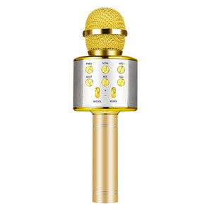 3-1 Wireless Karaoke Microphone With Built-in Bluetooth Speakers - RedepicDeals