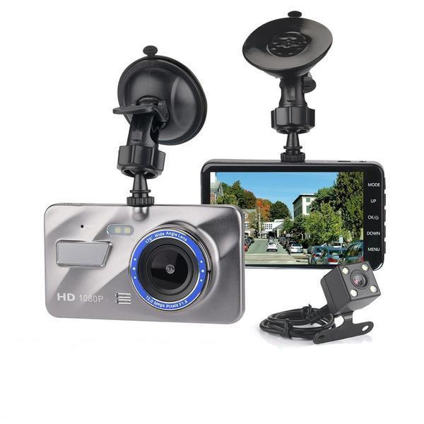 Dash Camera, Dashcam, Front and Rear HD Car Camera, In Car Security Camera, Car Recording Camera, Wireless Dash Cam