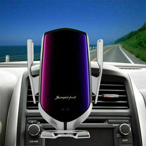 Smartly - Wireless Automatic Car Phone Holder & CHarger