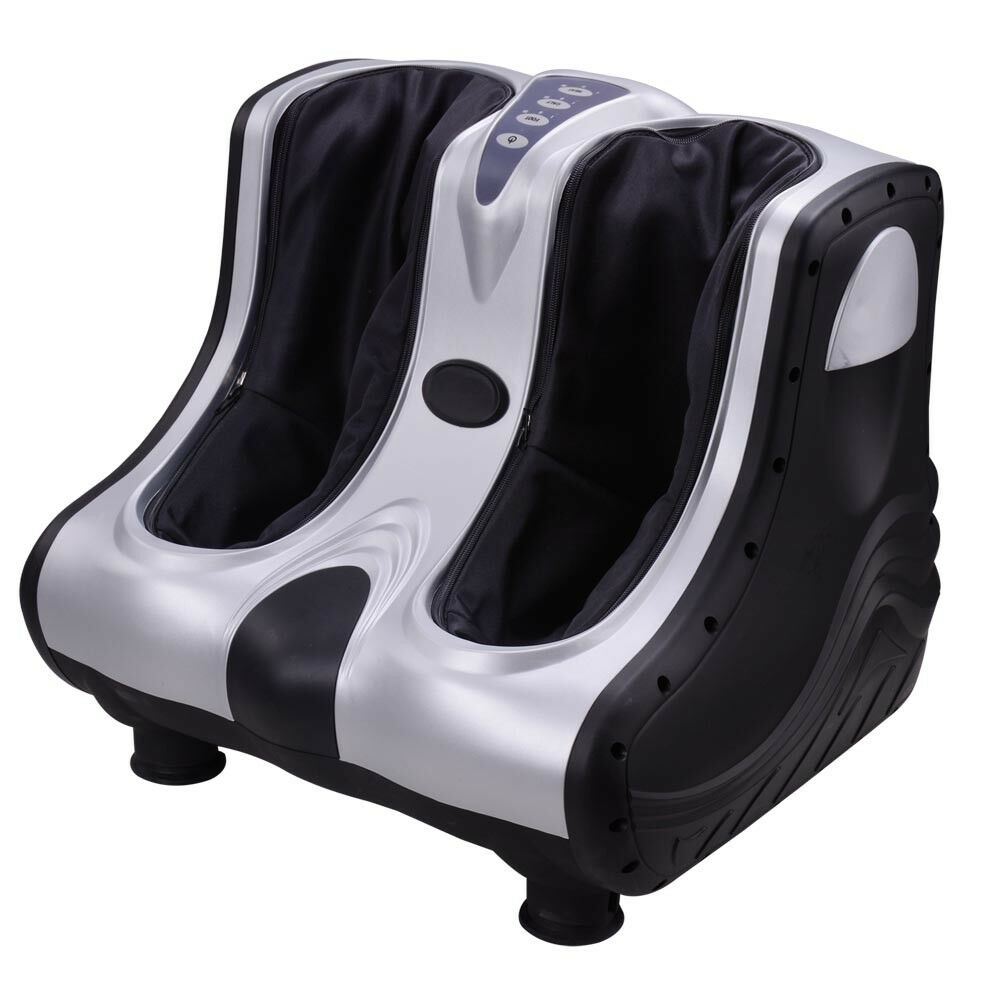 Shiatsu electric foot and calf massager with air compression
