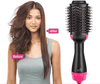 Volumy Ionic Round Hair Brush and Blow Dryer with Hot Air