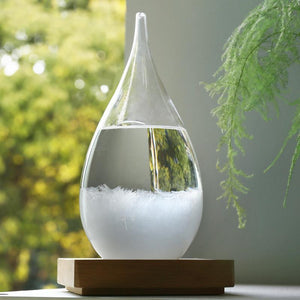 Weather Predicting Original Storm Glass - Storm in shot glass - Storm Glass Weather Predictor - meteorologist gifts - redepicdeals