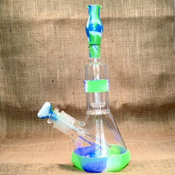 12th Man Showerhead Perc Beaker with 29mm Downstem - SGS - SGS