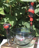 Cereal Bowl Pipe in Charcoal w/ Silicone Accessory Set - SGS - Cereal Bowl Pipe
