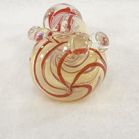 Totally Twisted Donut Hand Pipe - SGS - SGS