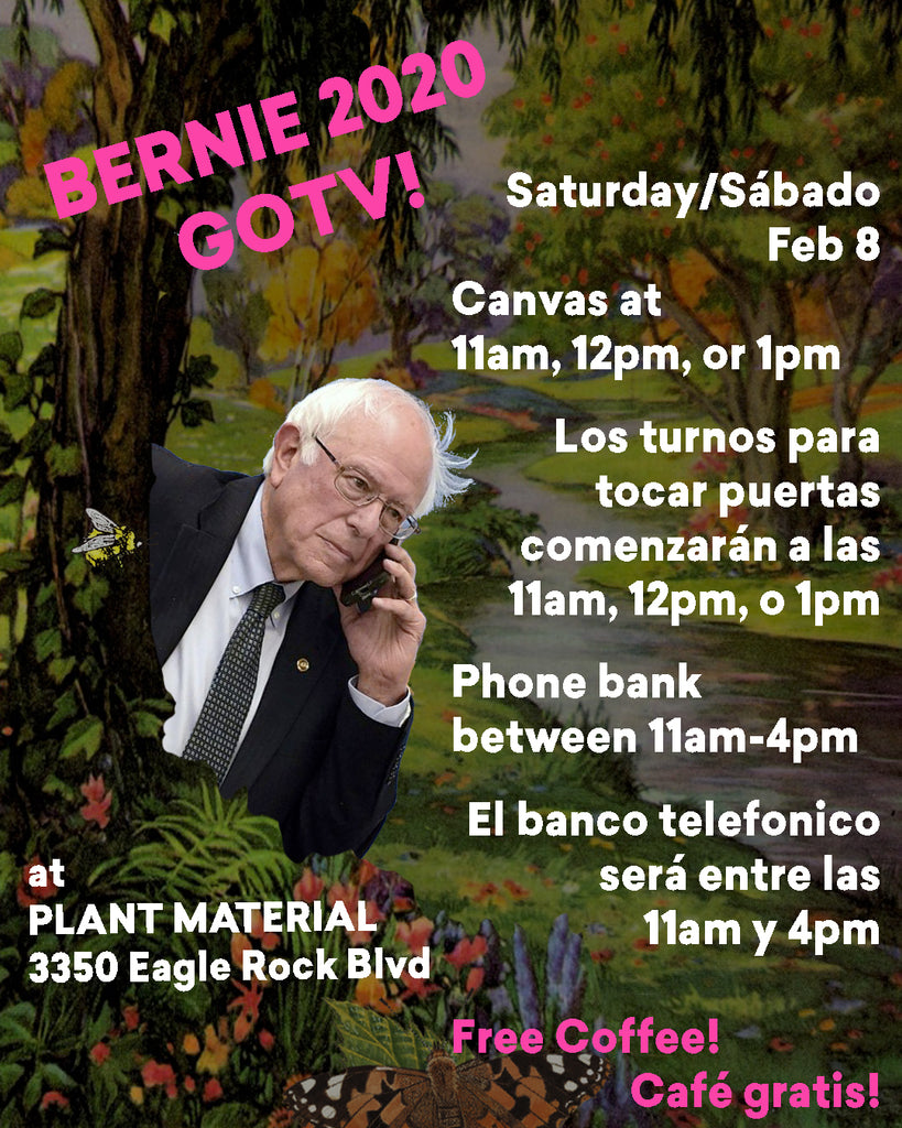 Official GOTV Canvass/Phonebank with Team Bernie