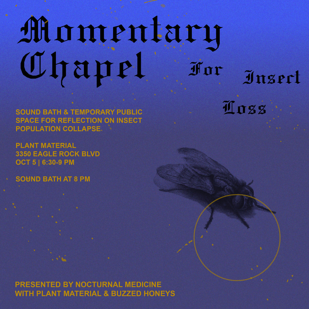 Momentary Chapel for Insect Loss