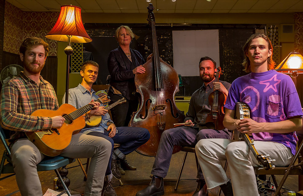 Music in the Garden: Echo Mountain string band  : Dec 21st