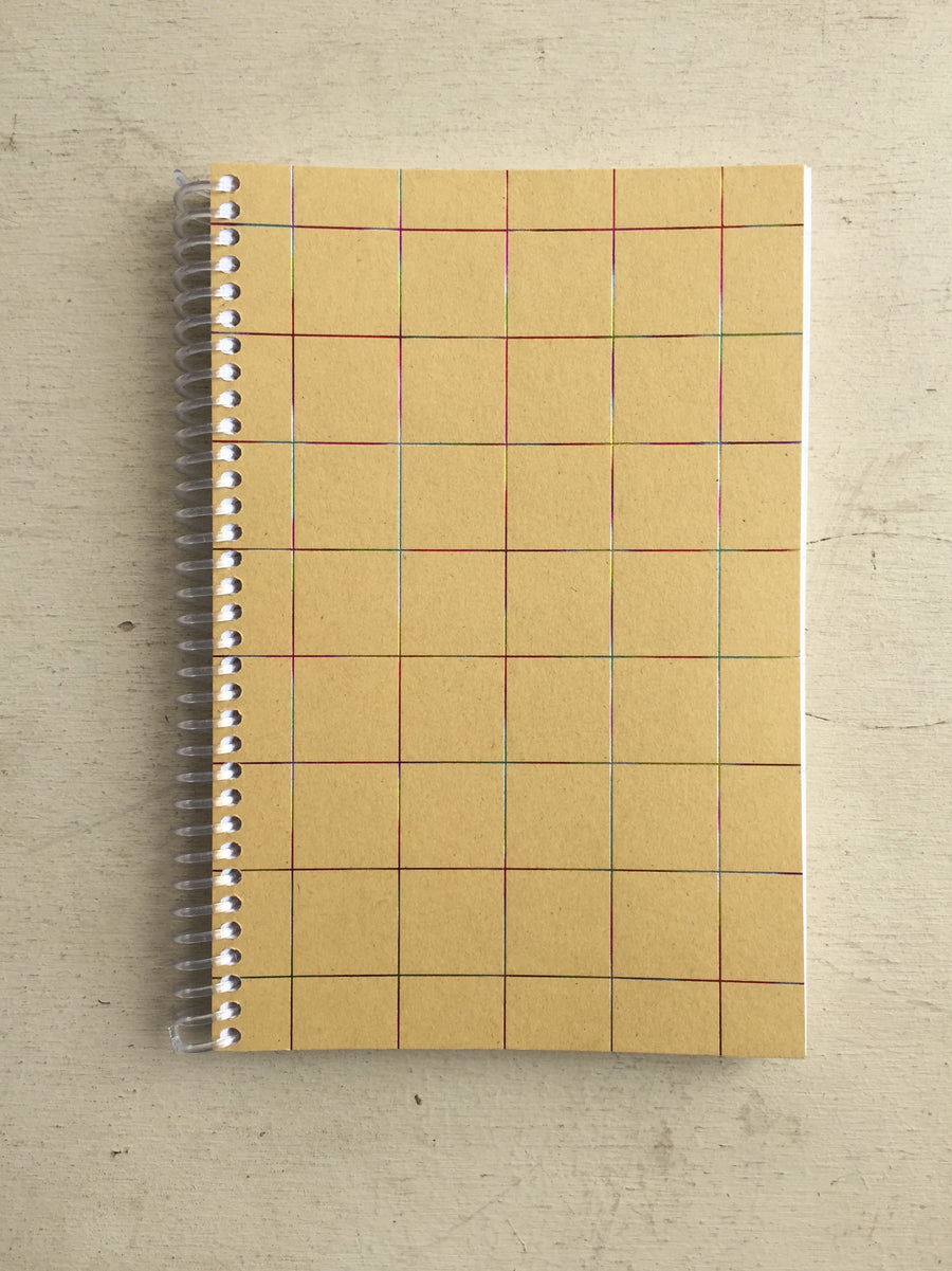 GridxLine Spiral Notebook