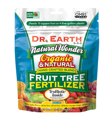 Dr. Earth Organic and Natural Wonder Fruit Tree Fertilizer 5-5-2