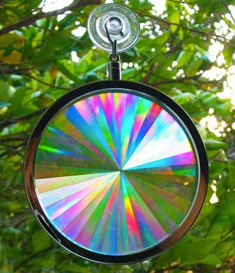 Axicon Rainbow Sun Catcher