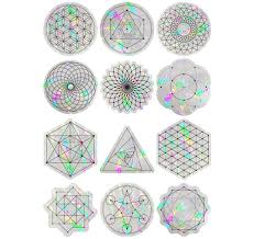 Sacred Geometry Suncatcher