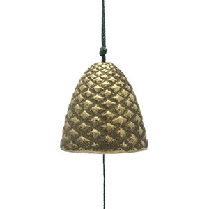 Gold Pine Cone Wind Chime